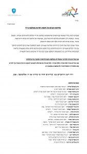 מכתב רבני קהילות